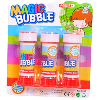 Magic Bubble Såpbubblor 60 ml 3-Pack, 0332