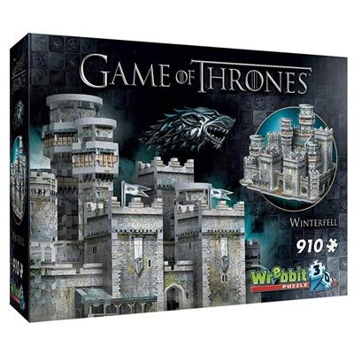 Wrebbit 3D Pussel 910 Bitar Game of Thrones Winterfell, 02018