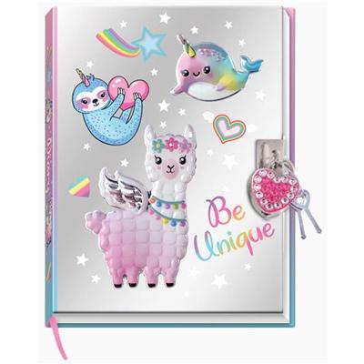 Dagbok med Lås Magical Friends, 3997A