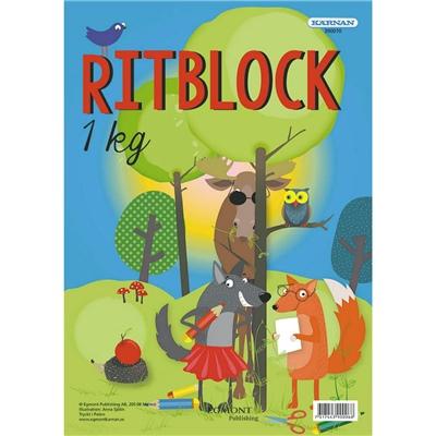 Kärnan Ritblock 1kg, 390010