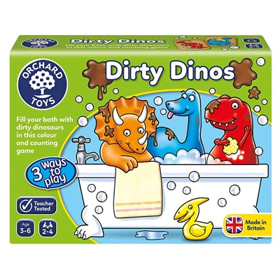 Orchard Toys Dirty Dinos, 051O