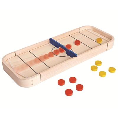 PlanToys 2-in-1 Shuffleboard Game, 4626PT