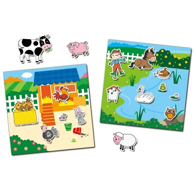 Galt Reusable Sticker Book Farm, 1005104