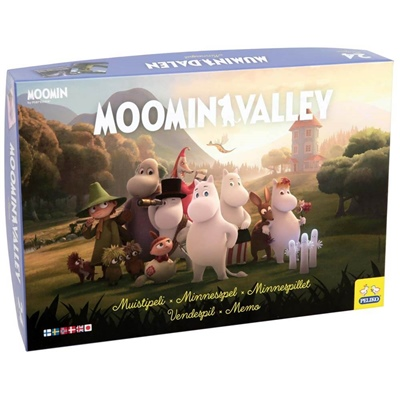 Peliko Moominvalley Minnesspel, 40855238