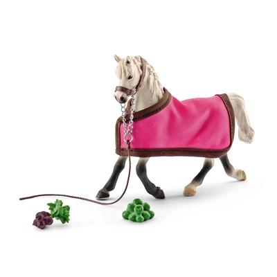 Schleich Horse Club Arabhäst Sto med Täcke, 41447