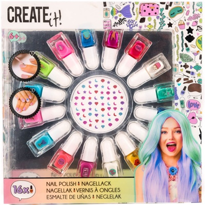 Create It! Nagellack 16-Pack, 84145