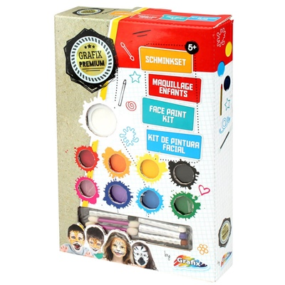 Grafix Premium Face Paint Kit, FAPA-GP