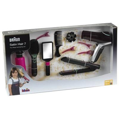 Klein Braun Satin Hair 7 Mega Set, 5873