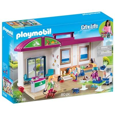 Playmobil Veterinärklinik Take Along, 70146P
