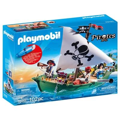 Playmobil Piratskepp med Undervattensmotor, 70151P