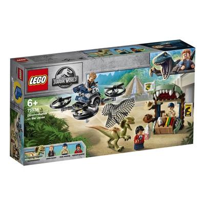 LEGO Jurassic World Dilophosaurus på Fri Fot, 75934