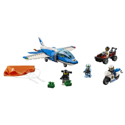 LEGO City Luftpolisens Fallskärmsarrest, 60208