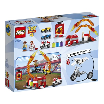 LEGO Juniors Disney Pixar Toy Story 4 Duke Cabooms Stuntshow, 10767