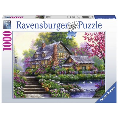 Ravensburger Pussel 1000 Bitar Romantic Cottage, 151844