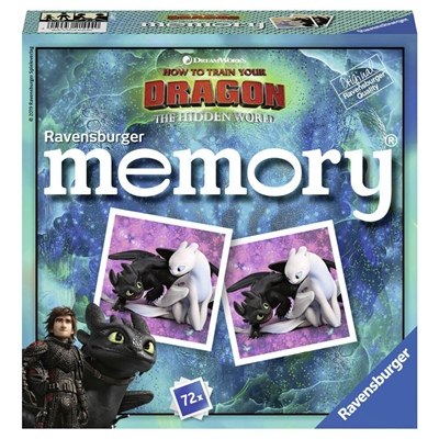 Ravensburger Memory How To Train Your Dragon, 214440