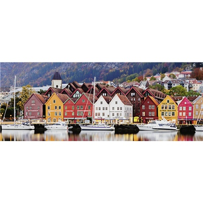 Ravensburger Pussel 1000 Bitar Panorama Port of Norway, 150908