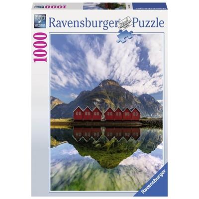 Ravensburger Pussel 1000 Bitar Sunndalsora Norway, 152568