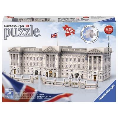 Ravensburger 3D Pussel 216 Bitar Buckingham Palace, 125241