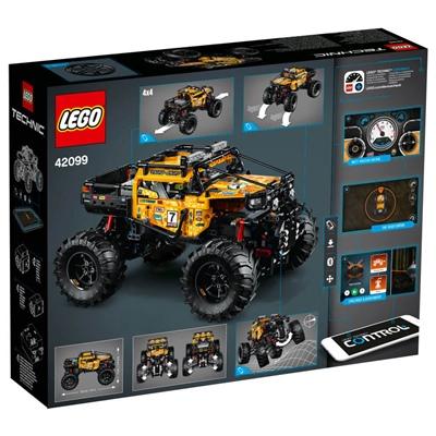 LEGO Technic Extrem 4X4 Terrängbil, 42099