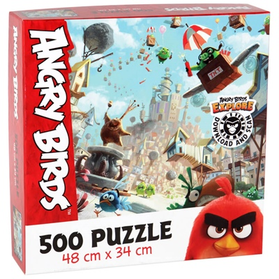 Peliko Pussel 500 Bitar Angry Birds, 40855436