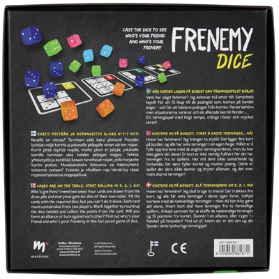 Peliko Frenemy Dice, 40861871