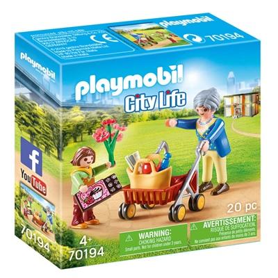 Playmobil Mormor med Rullator, 70194