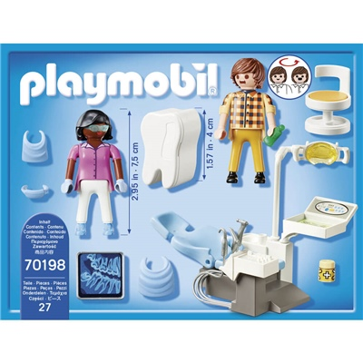 Playmobil Specialistläkare Tandläkare, 70198