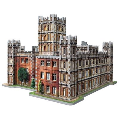 Wrebbit 3D Pussel 890 Bitar Downton Abbey, 02019