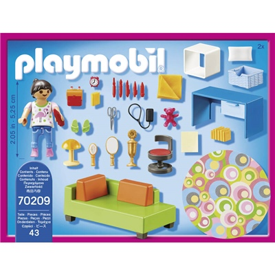 Playmobil Tonårsrum, 70209P