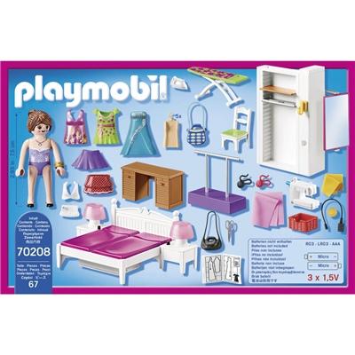 Playmobil Sovrum med Syhörna, 70208P