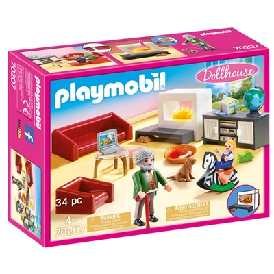 Playmobil Bekvämt Vardagsrum, 70207P