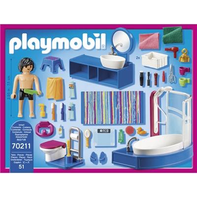 Playmobil Badrum med Badkar, 70211P