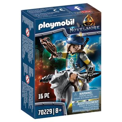 Playmobil Novelmore Armborstskytt med Varg, 70229P