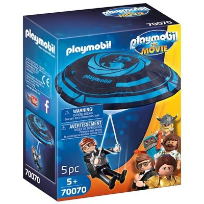 Playmobil: THE MOVIE Rex Dasher med Fallskärm, 70070