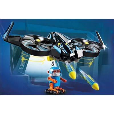 Playmobil: THE MOVIE Robotitron med Drönare, 70071