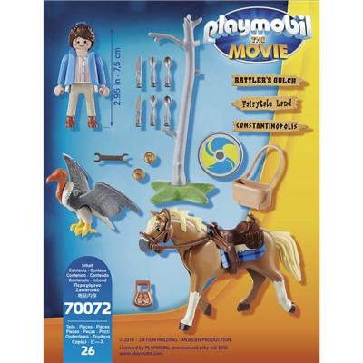 Playmobil: THE MOVIE Marla med Häst, 70072