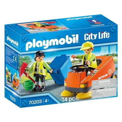Playmobil Gatsopningsmaskin, 70203P