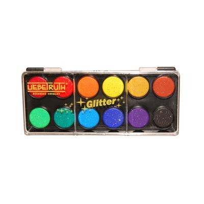 Liebetruth Vattenfärger med Glitter Liten, 5512-12