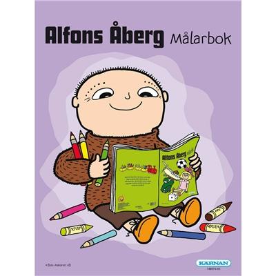Kärnan Målarbok Måla Alfons, 148076