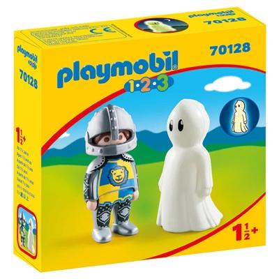 Playmobil 1-2-3 Riddare med Spöke, 70128P
