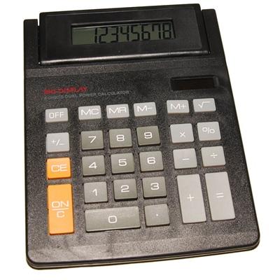 Klassisk Miniräknare med Stora Knappar, 7330400105009
