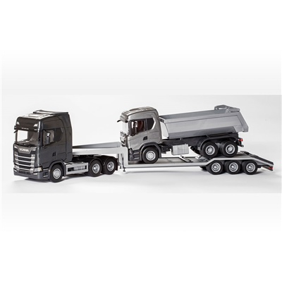 Emek Scania S Next G Low Loader & G500 Tipplastbil 1:25, 30613