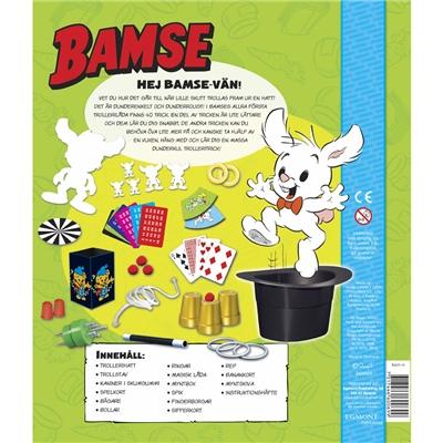 Kärnan Bamse Min Allra Första Trollerilåda med Hatt, 660069