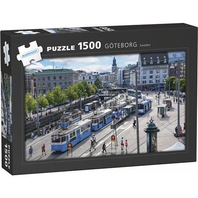 Kärnan Pussel 1500 Bitar Göteborg, 590018