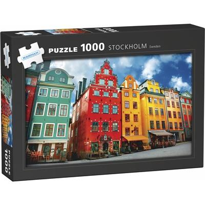 Kärnan Pussel 1000 Bitar Stockholm, 580056