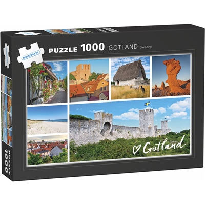 Kärnan Pussel 1000 Bitar Gotland, 580055