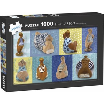 Kärnan Pussel 1000 Bitar Lisa Larson ABC-Flickorna, 580053