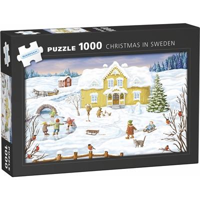 Kärnan Pussel 1000 Bitar Jul i Sverige, 580052