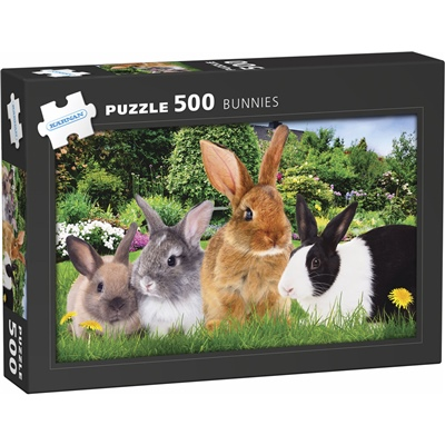 Kärnan Pussel 500 Bitar Kaniner, 570031