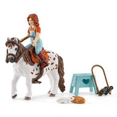 Schleich Horse Club Mia och Spotty, 42518
